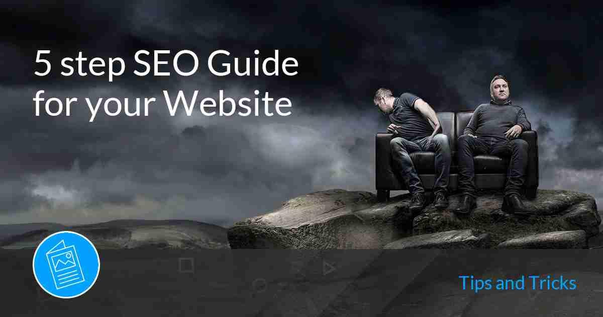 5 step guide wordpress