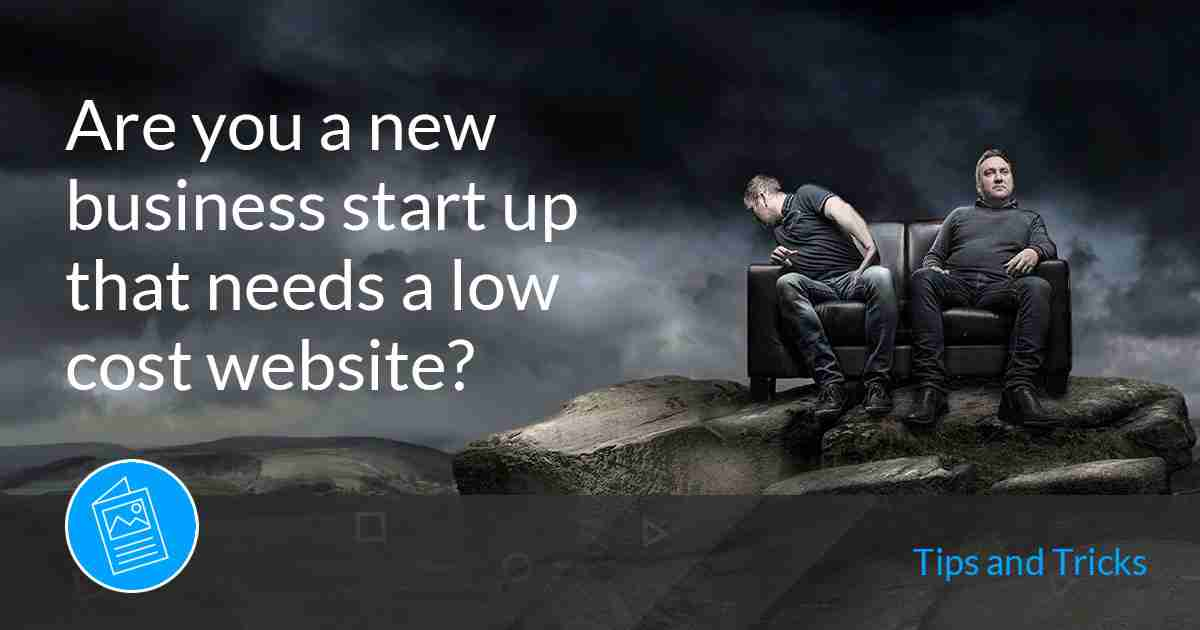 new business websites