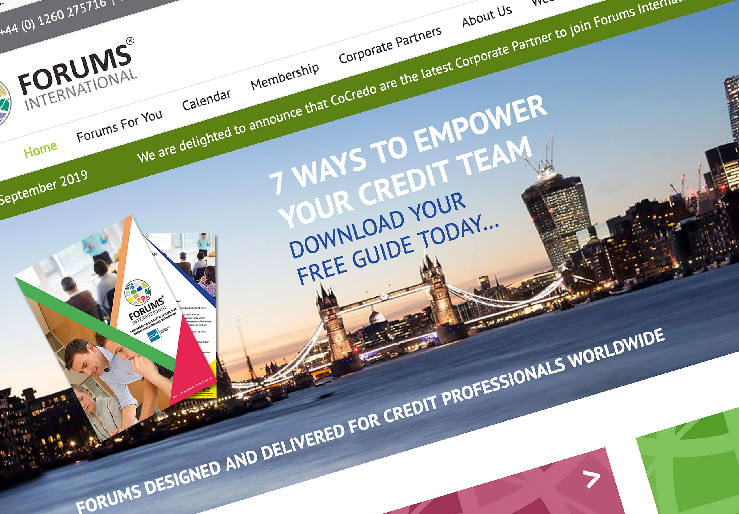 forums international website graphic design doncaster