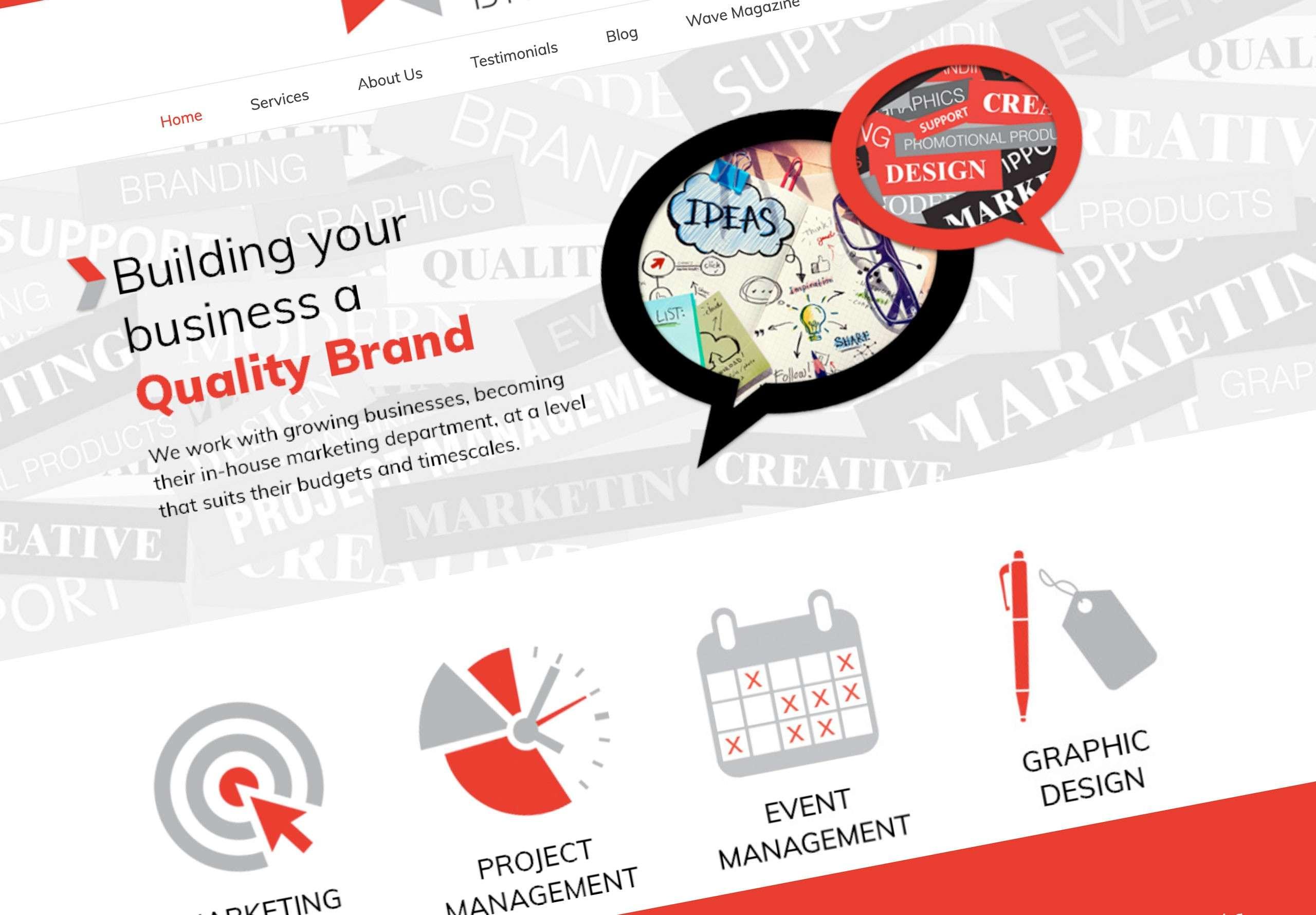 website hallmark branding doncaster