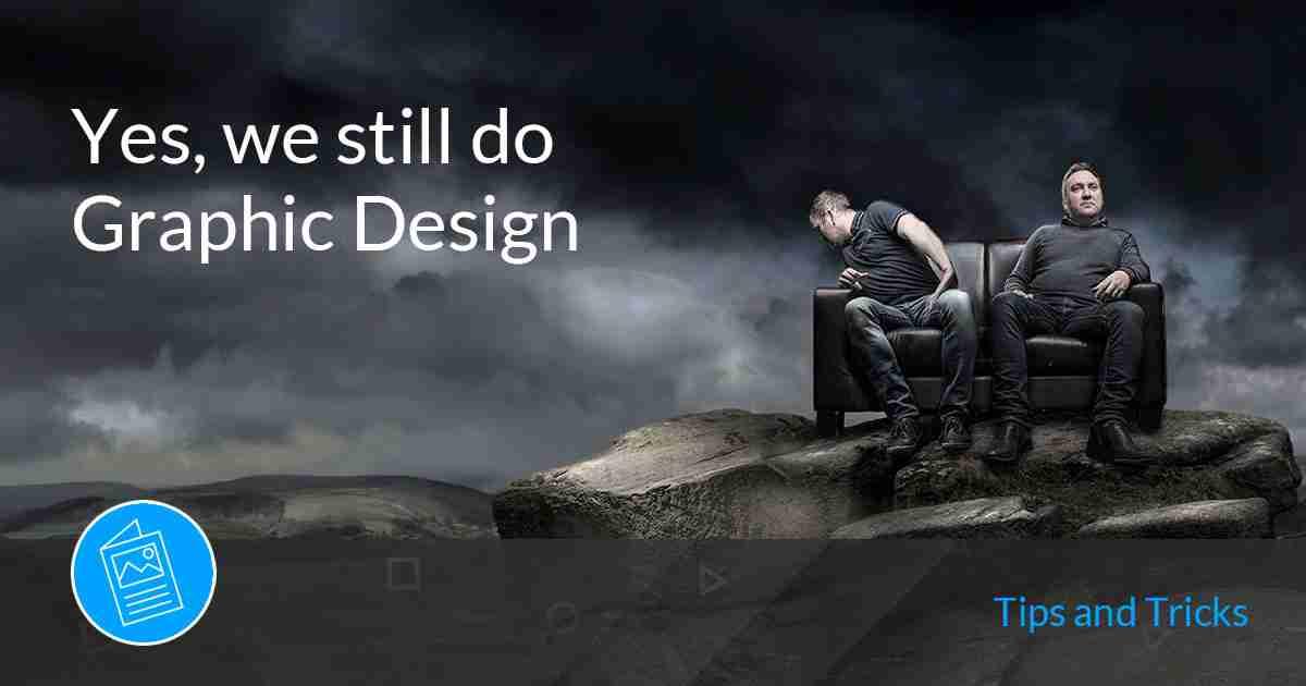 still do graphic design