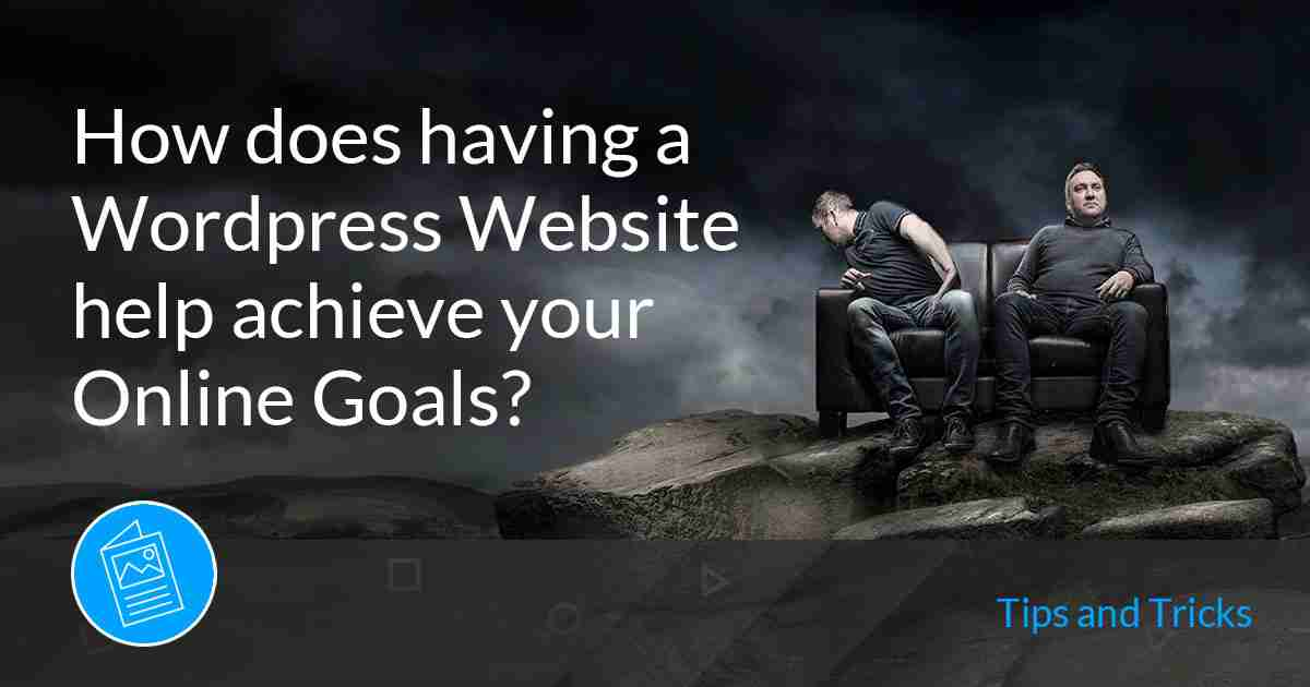 wordpress website achieve online goals web design doncaster