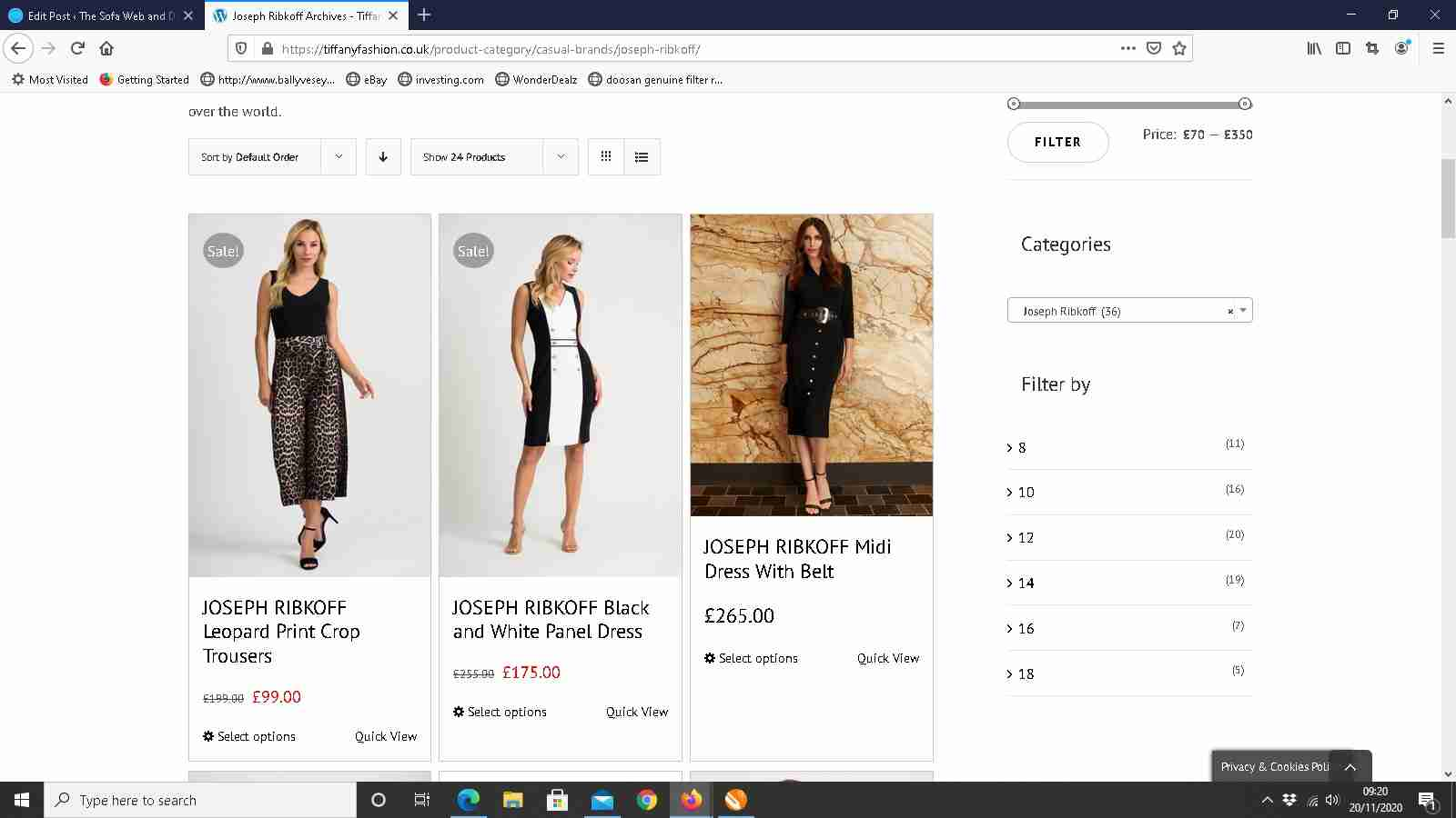 e-commerce websites for retail businesses