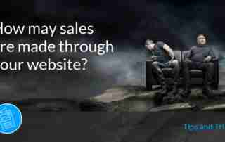 Selling Through your Website